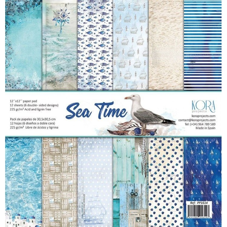 Pack of papers - Sea Time
