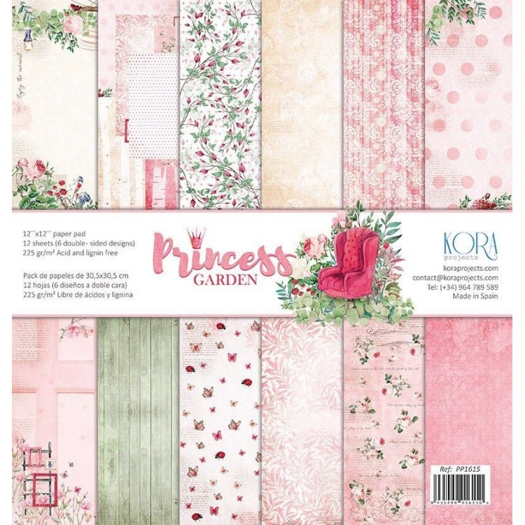 Pack of papers - Princess Garden