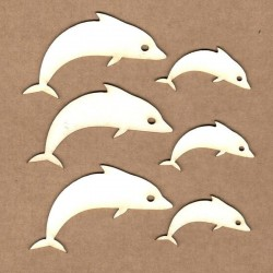 Chipboard - Dolphins