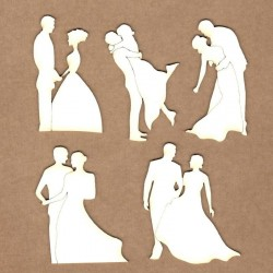 Chipboard - Lovers Poses
