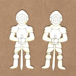 Chipboard - Medieval Knight