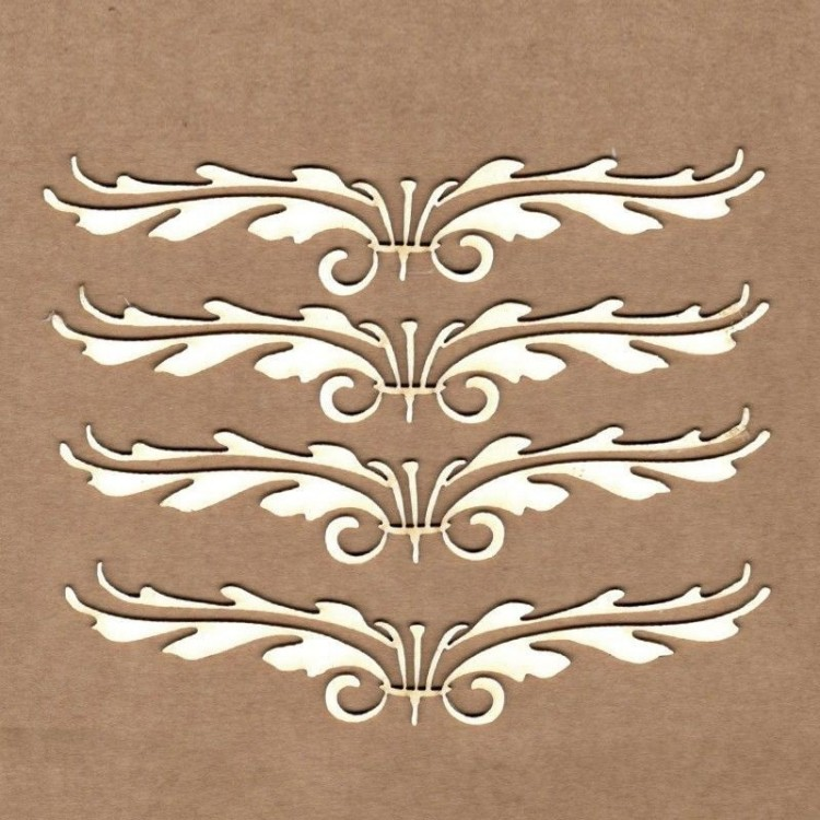 Chipboard - Borde imperial