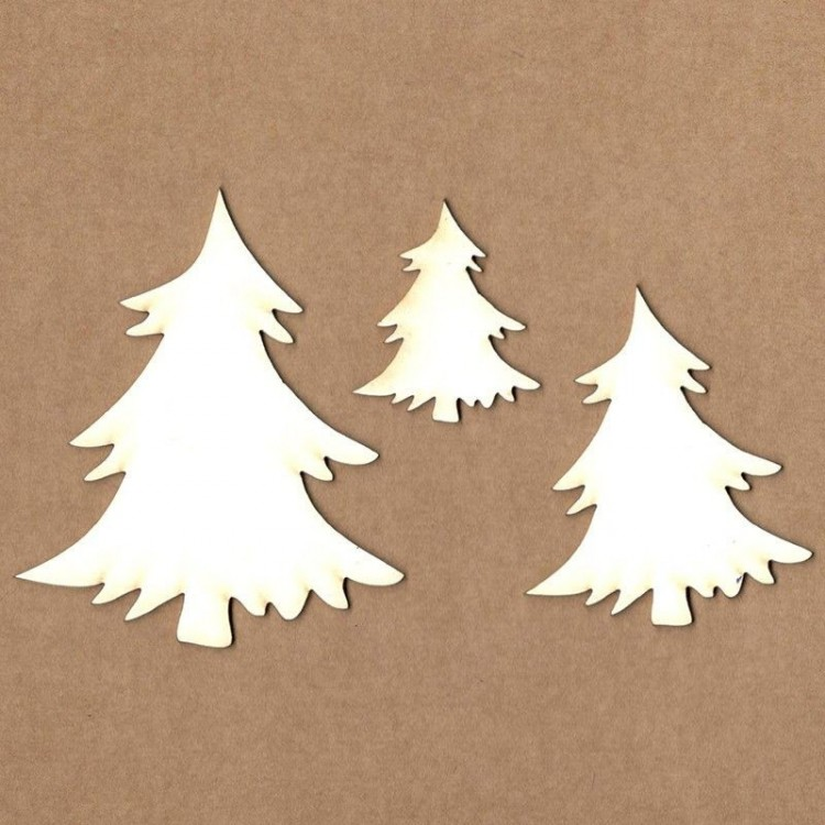 Chipboard - Christmas Tree