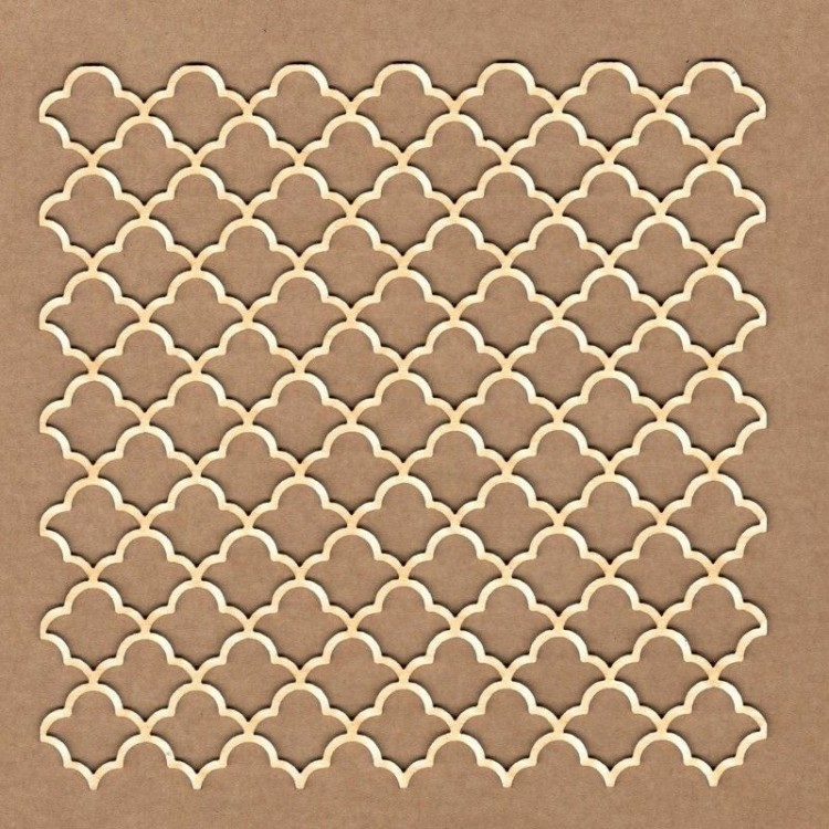 Chipboard - Classic Deco Background