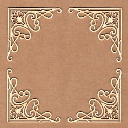 Chipboard - Corner forging with edge
