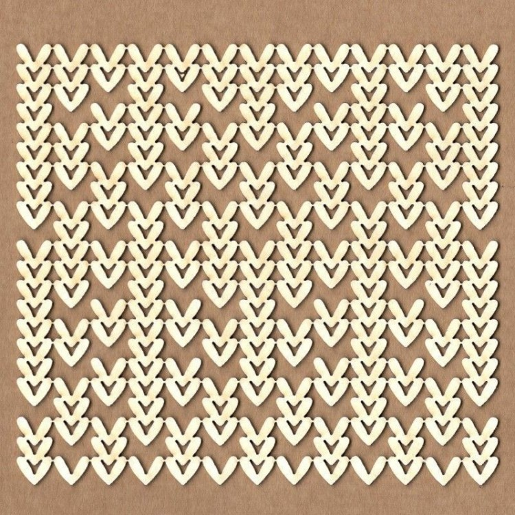 Chipboard - Knitted Background