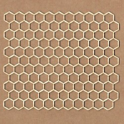 Chipboard - Honeycomb background