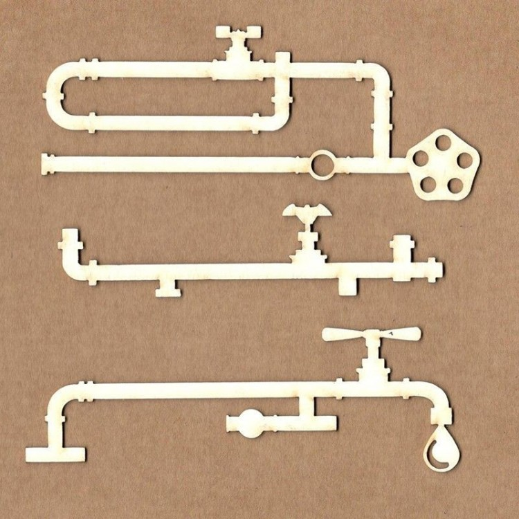 Chipboard - Pipes