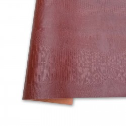 Ecoleather reptile - Brown