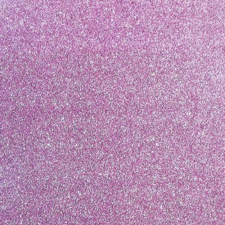 Thermotransfer Vinyl for EcoLeather - Purple Glitter