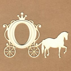 Chipboard - Horse Carriage