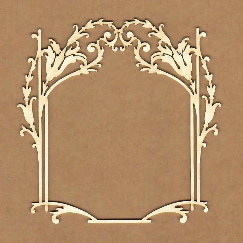 Chipboard - Square frame Florence