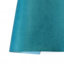 Ecoleather matte - Turquoise blue