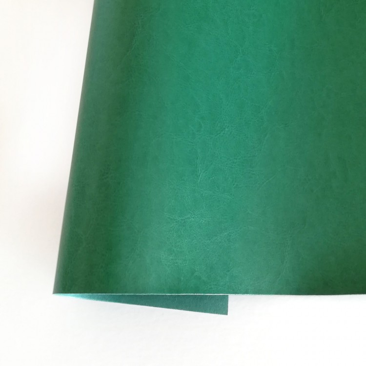 Ecoleather satin - Pine green