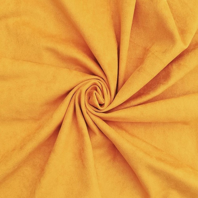 Suede - Mustard yellow