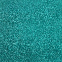 Thermotransfer vinyl for Ecoleather - Turquoise Glitter