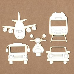 Set of chipboard – Transports